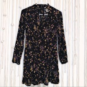 WAY-IN clothing flower dress size small